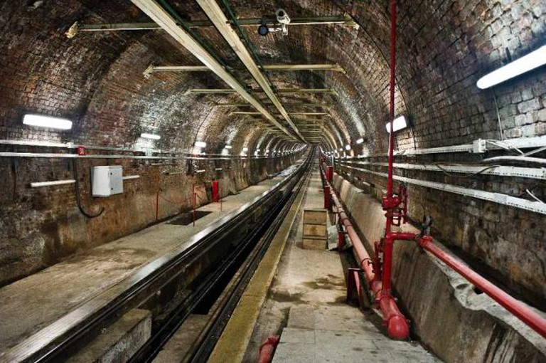 The Tunel Funicular | © Atomicbre/WikiCommons