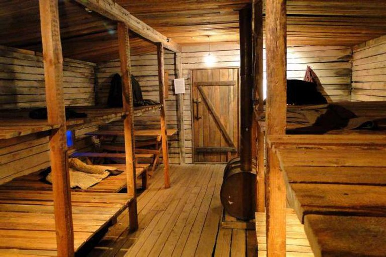Display Recreating Barracks Conditions for Latvian Deportees to Soviet Prison Camps – Museum of Latvia's Occupation