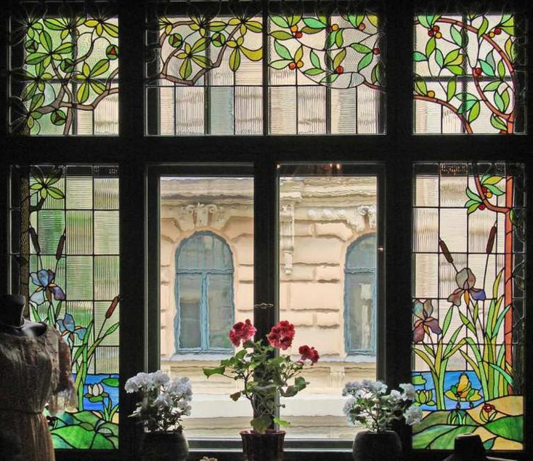 Dining room window – Art Nouveau Museum