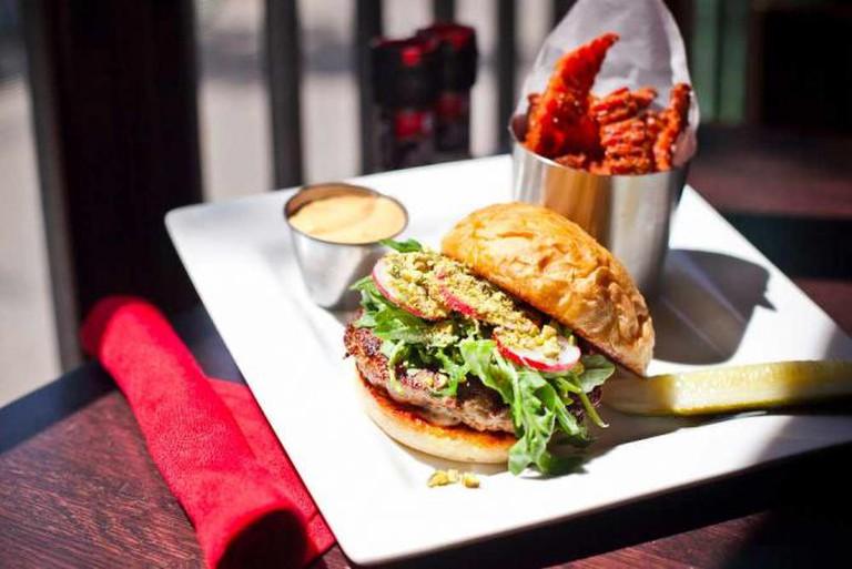 Turkey Burger | Courtesy of Red Cow Minneapolis