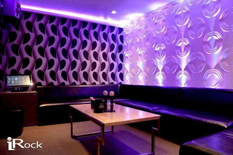 Karaoke Room | Courtesy of iRock Karaoke Lounge