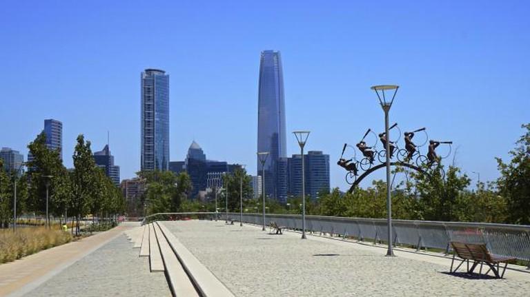 Santiago skyline | © alobos Life/Flickr