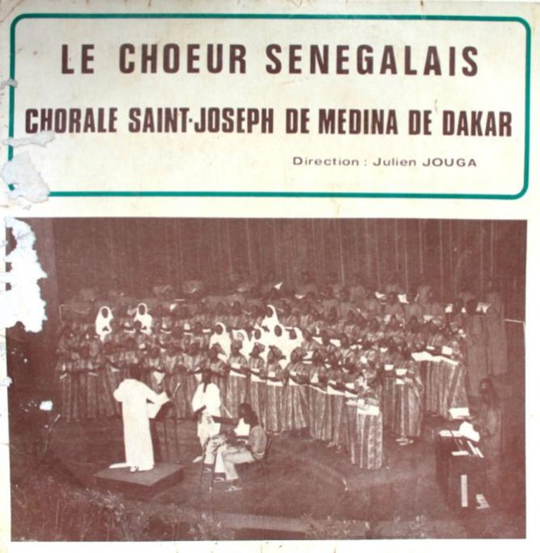 Live recording of a Saint Joseph Choir of Medina concert in Dakar, 1972, led by Julien Jouga and Doudou N'diaye Rose