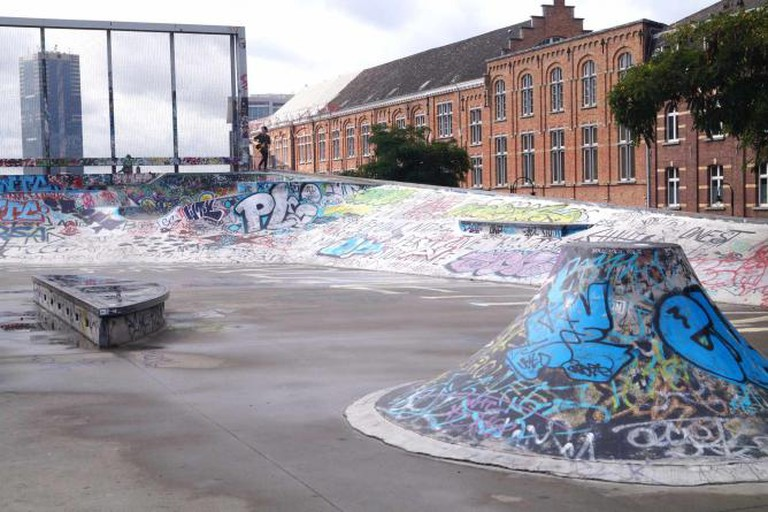 Recyclart skatepark