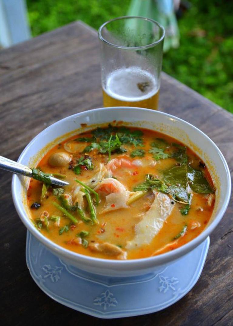 Tom Kai Gai Soup | Courtesy of Kitchen 79