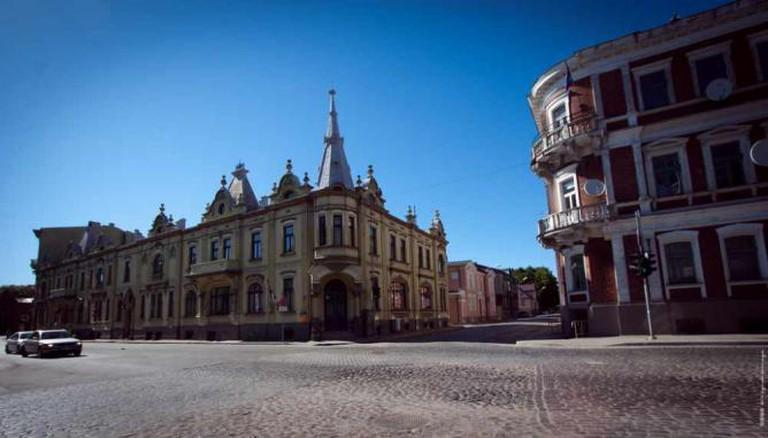 Liepaja city center