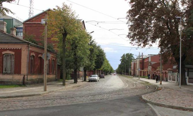 A street in Liepaja