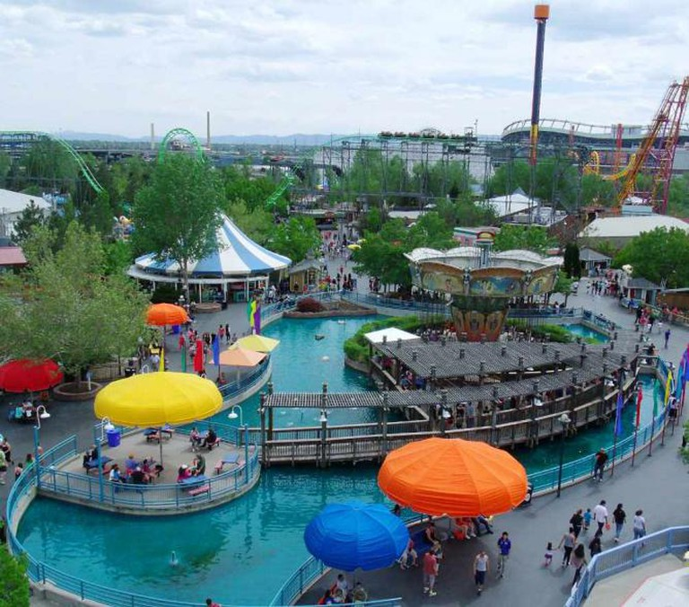 A photo of Elitch Gardens