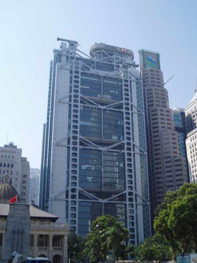HSBC, Hong Kong by Norman Foster