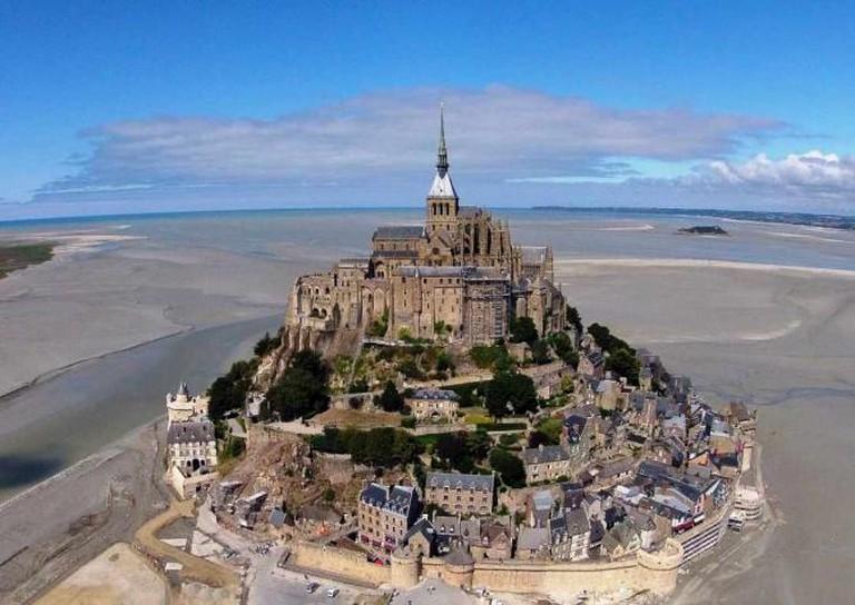 L'Abbaye du Mont-Saint-Michel © Sylvain Verlaine/WikiCommons