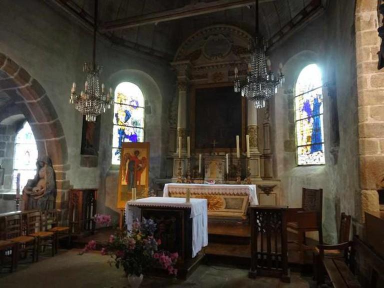 Eglise Saint-Pierre du Mont Saint-Michel © Jordiferrer/WikiCommons