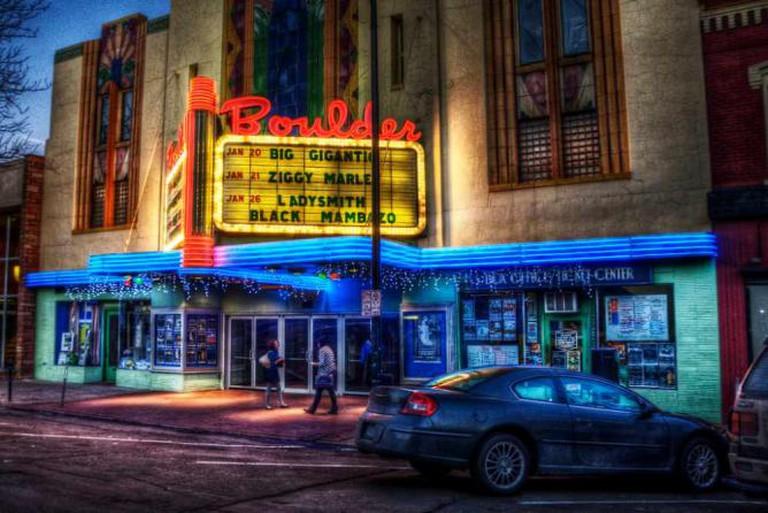 Boulder Theater © Yuga Sekiguchi/WikiCommons