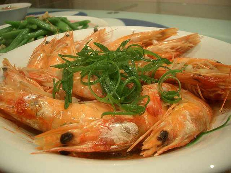 Steamed Prawns with Rice Wine | © Alpha/Flickr