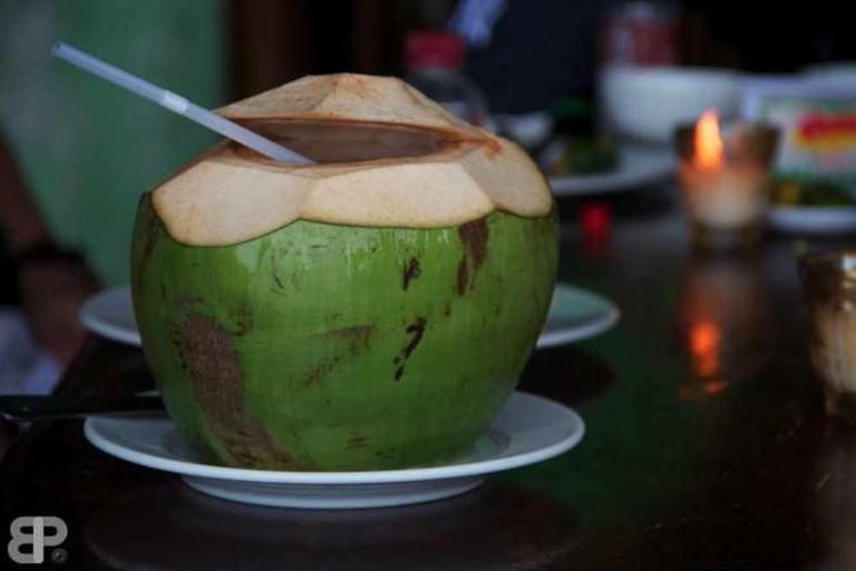 Buko drink.