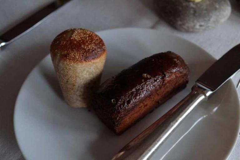 Food served in Oaxen Krog & Slip