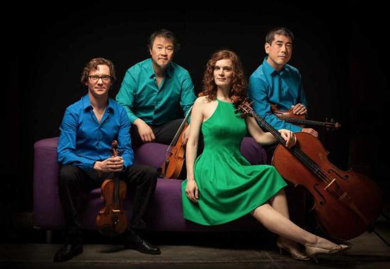 Del Sol Quartet | Matthew Washburn