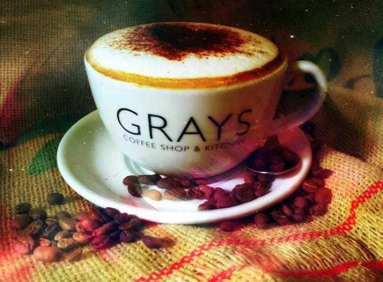 Coffee | Courtesy of Grays Coffee Shop & Kitchen