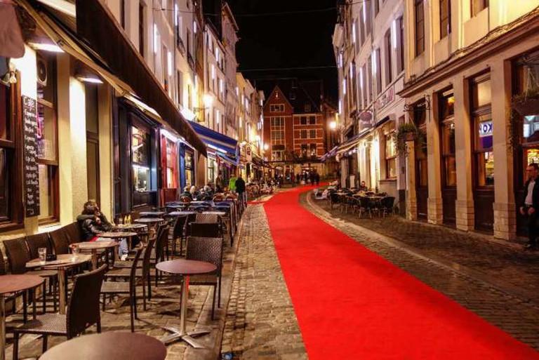 Brussels city center