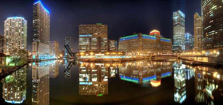 Chicago River from Lake Street Bridge I