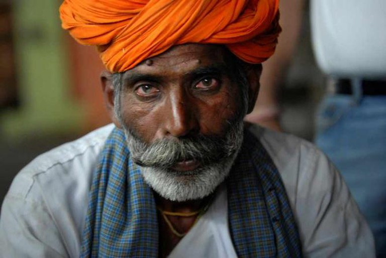 Photo of an Indian man in Pushkar, India   © Kristian Bertel