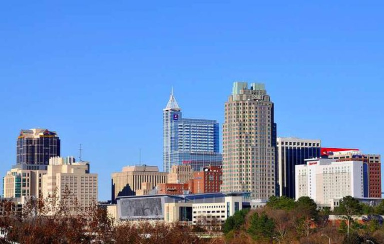 Raleigh skyline | © JamesWillamor/Flickr