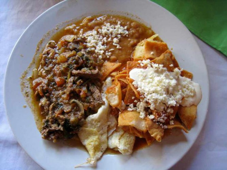 Chilaquiles © Jeff Kramer/Flickr