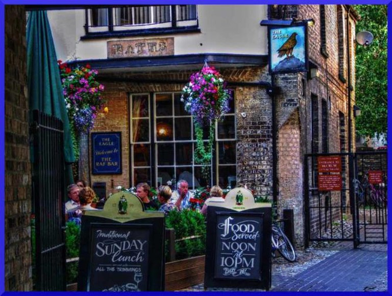 The Eagle pub ©sean_hickin/Flickr
