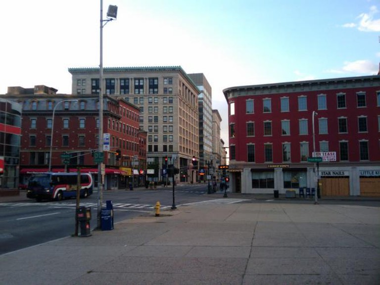 Worcester downtown