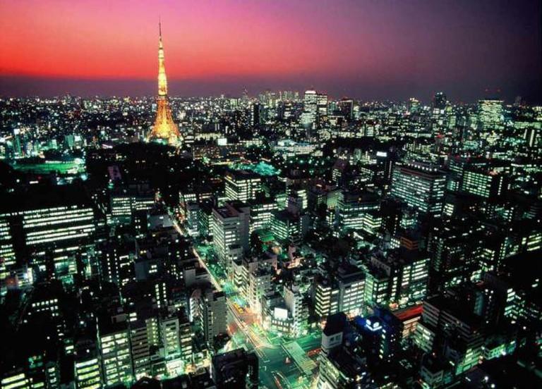 Tokyo at night | © Tokyo Convention & Visitors Bureau