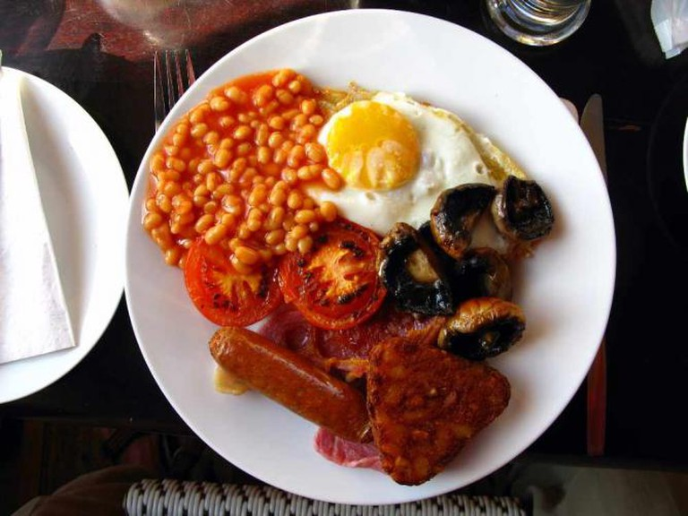 Traditional English breakfast | © Joadl/WikiCommons