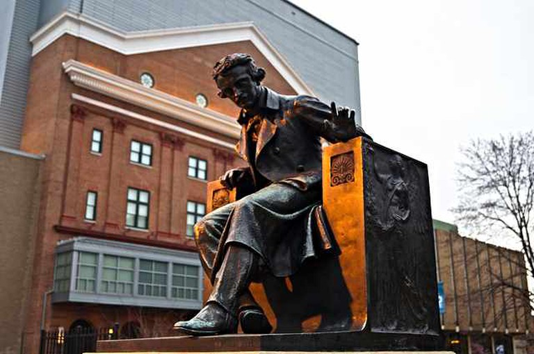 Edgar Allan Poe at University of Baltimore