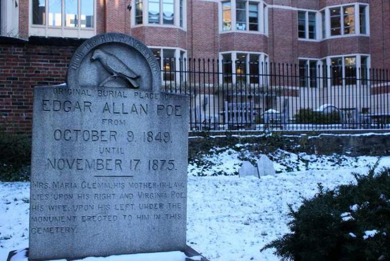 Edgar Allan Poe's grave site | © kezee/Flickr