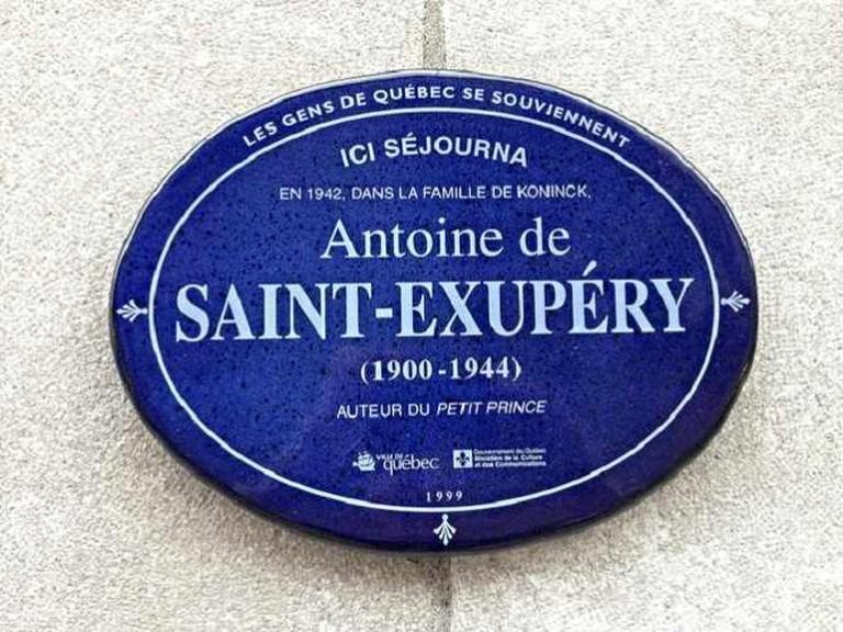 Antoine de Saint-Exupéry | © mj.ostergen/Flickr