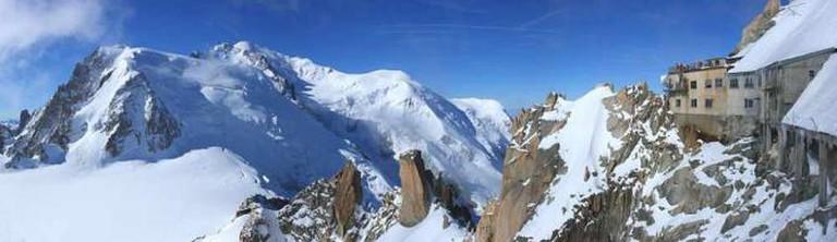 Mont Blanc panorama © Nicolas Sanchez/WikiCommons