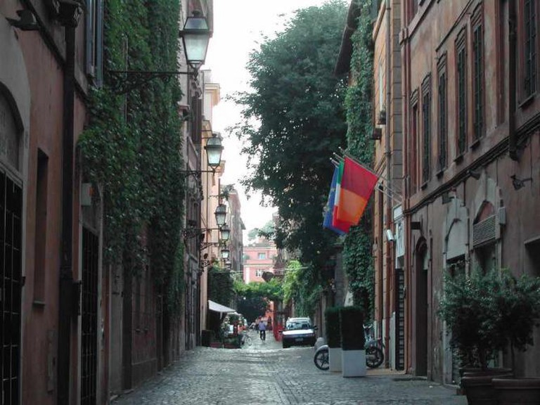 Via Margutta, Rome | © Lalupa/WikiCommons