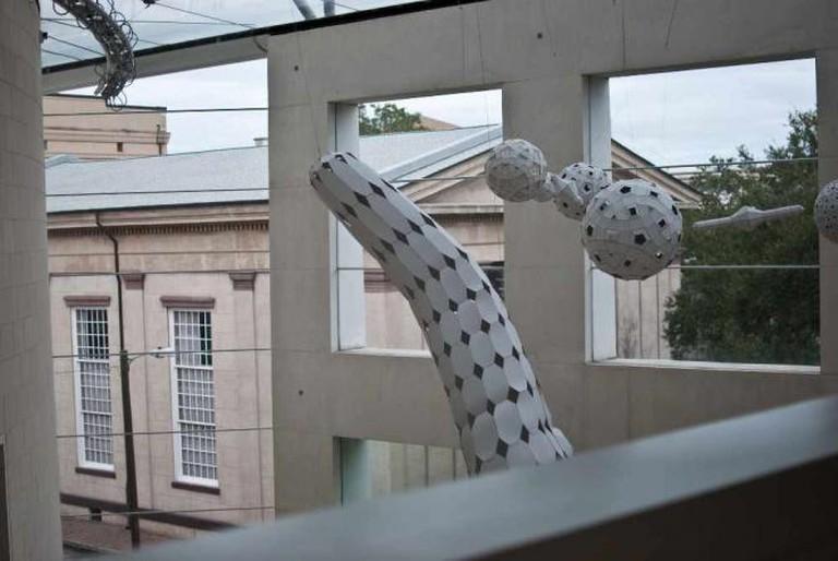 Art in the atrium, Jepson Center for the Arts | © Krissa Corbett Cavouras/ Flickr