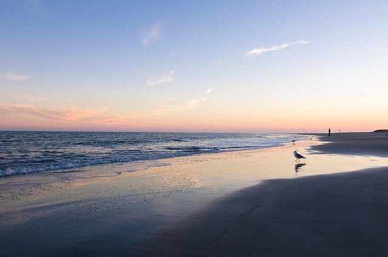 Sunset at Tybee Island Beach | © m01229/Flickr