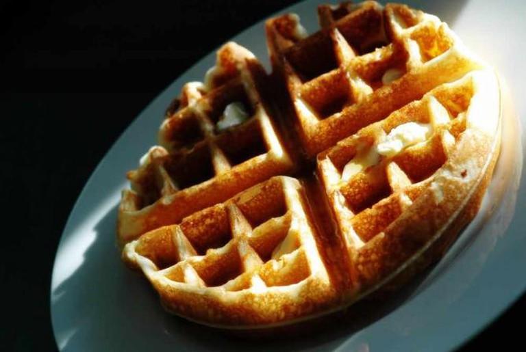 Belgian waffle | © David Goehring/Flickr