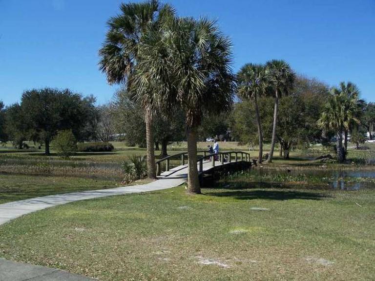 Venetian Gardens Park in Leesburg | © Ebyabe/WikiCommons