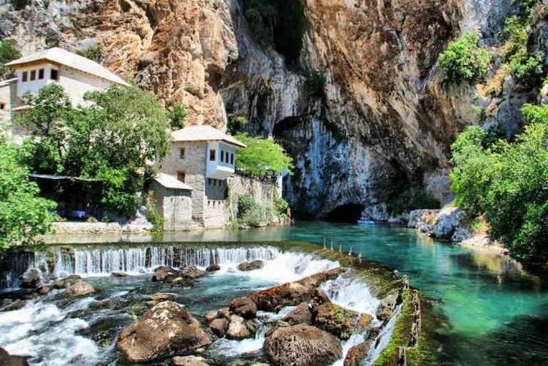 Blagaj Monastery | Ⓒ Talha Şamil Çakır/WikiCommons