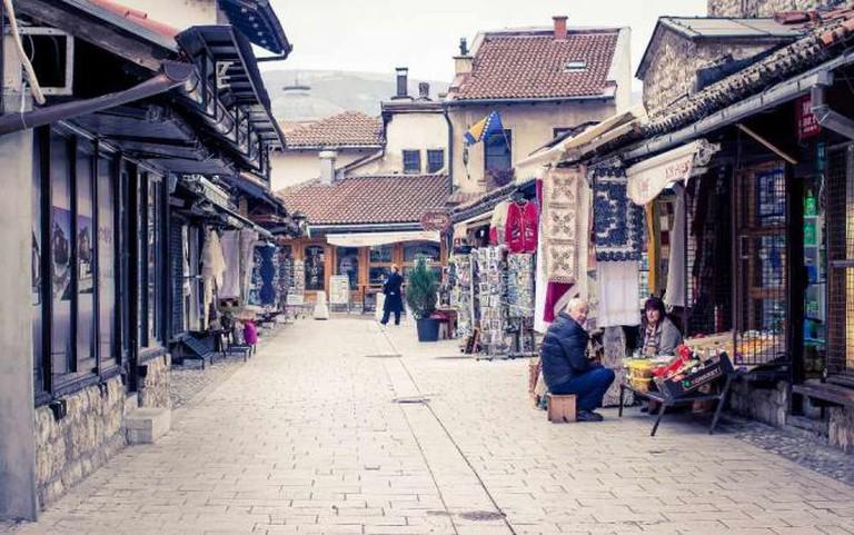 Sarajevo Old Town | Ⓒ Ivana Vasilj/Flickr