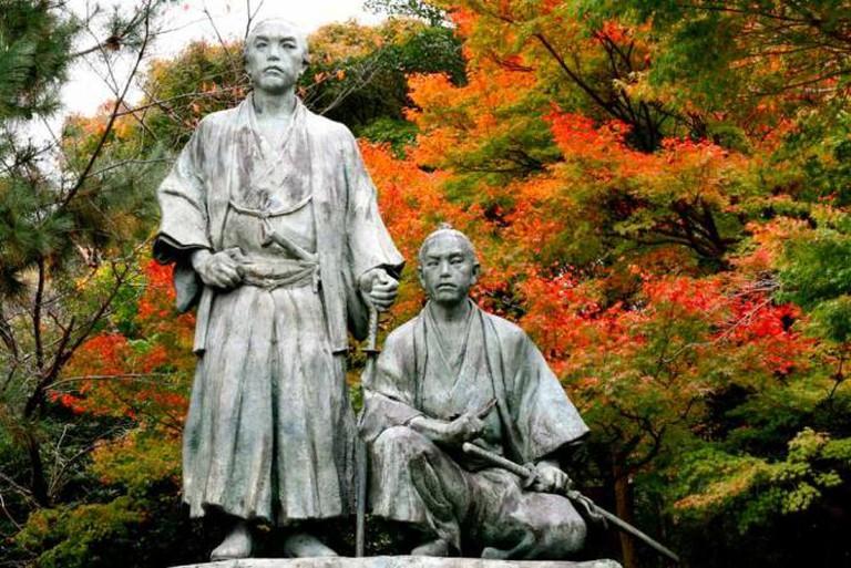 Sakamoto Ryoama and Nakaoka Shintaro
