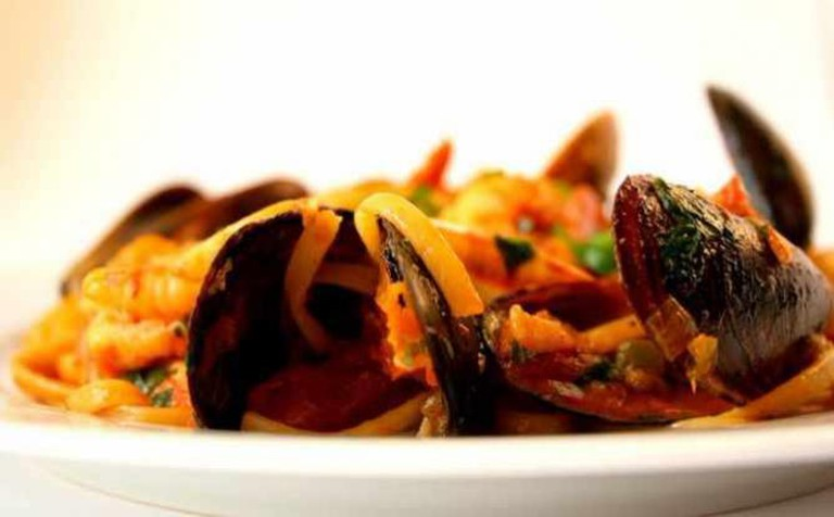 Seafood pasta | © Cooking etc./Flickr