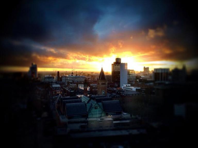 Manchester skyline I