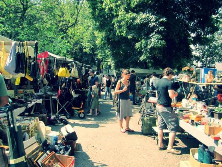 Market Flea © Flickr