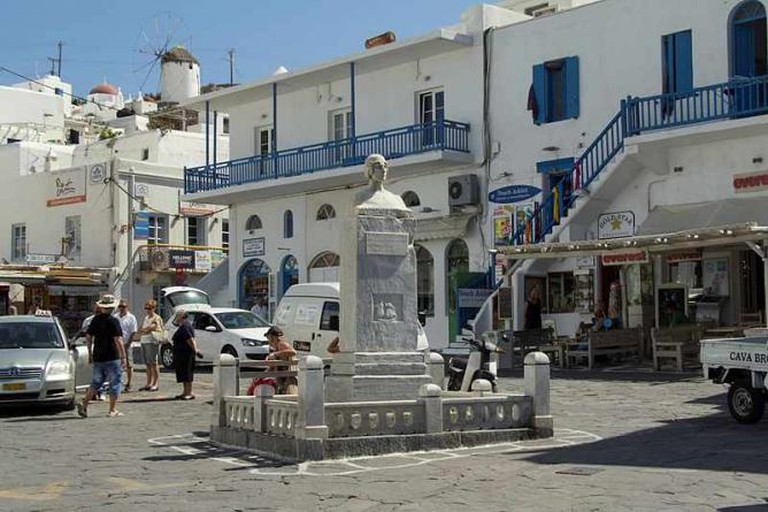 Square of Mantho Mavrogenous, Chora of Mykonos