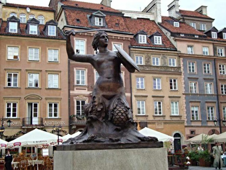 The Warsaw Mermaid | © ezymarolda/Flickr