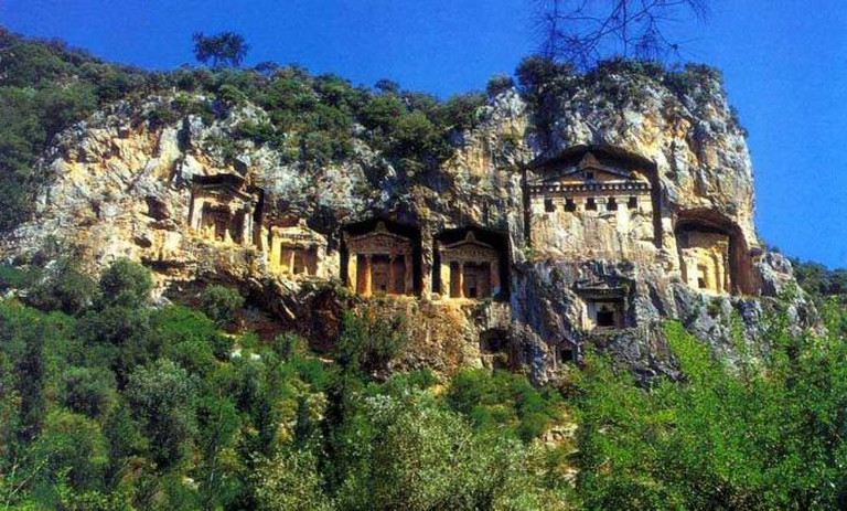 Carian Rock Tombs | © AlexanderShap/WikiCommons