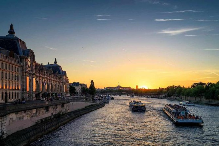 The Seine at sunset | © skeeze/Pixabay