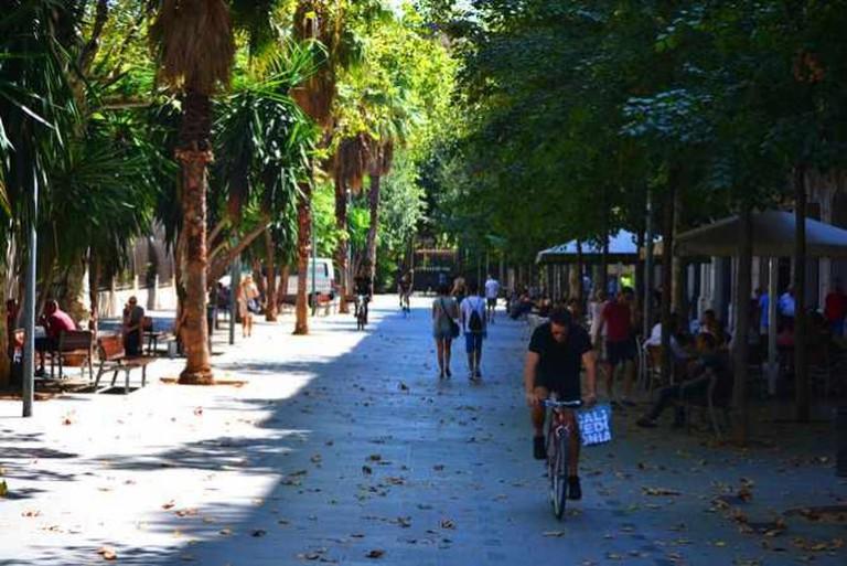 Calle Enrique Granados, Barcelona © Susanna Corchia